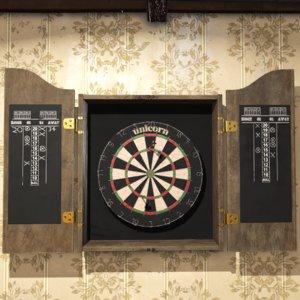 dartboard prop 3D model