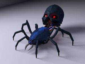 3D model robotic spider