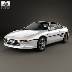 3D toyota mr2 mr model