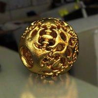 3D jewelry charm pa d14se862
