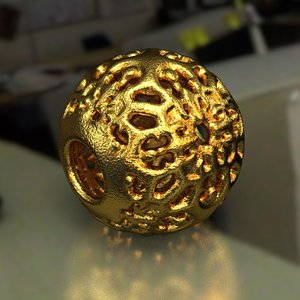 3D jewelry v1 ball pa model