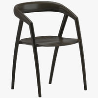 inoda sveje dc09 dining chair 3D model