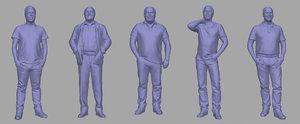 men backgrounds games model
