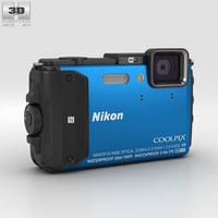 3D nikon coolpix aw130