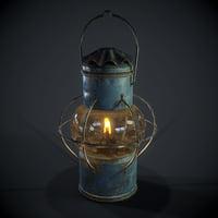 PBR Oil Lantern