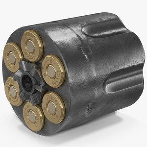 revolver cylinder 2 3D model