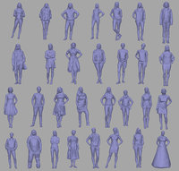 Female collection (30 models)