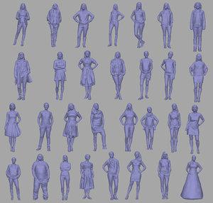 3D 30 female