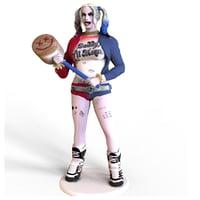 harley quinn statue 3D