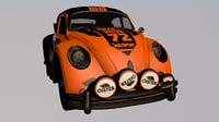 3D classic car sports