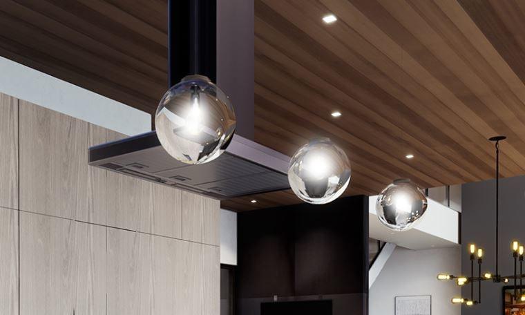 modern globe pendant ceiling light 3D model