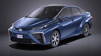 Toyota Mirai 2018 VRAY
