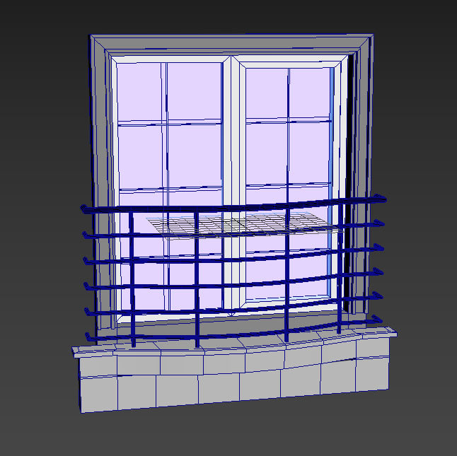 3D window set