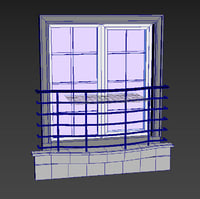 3D window set