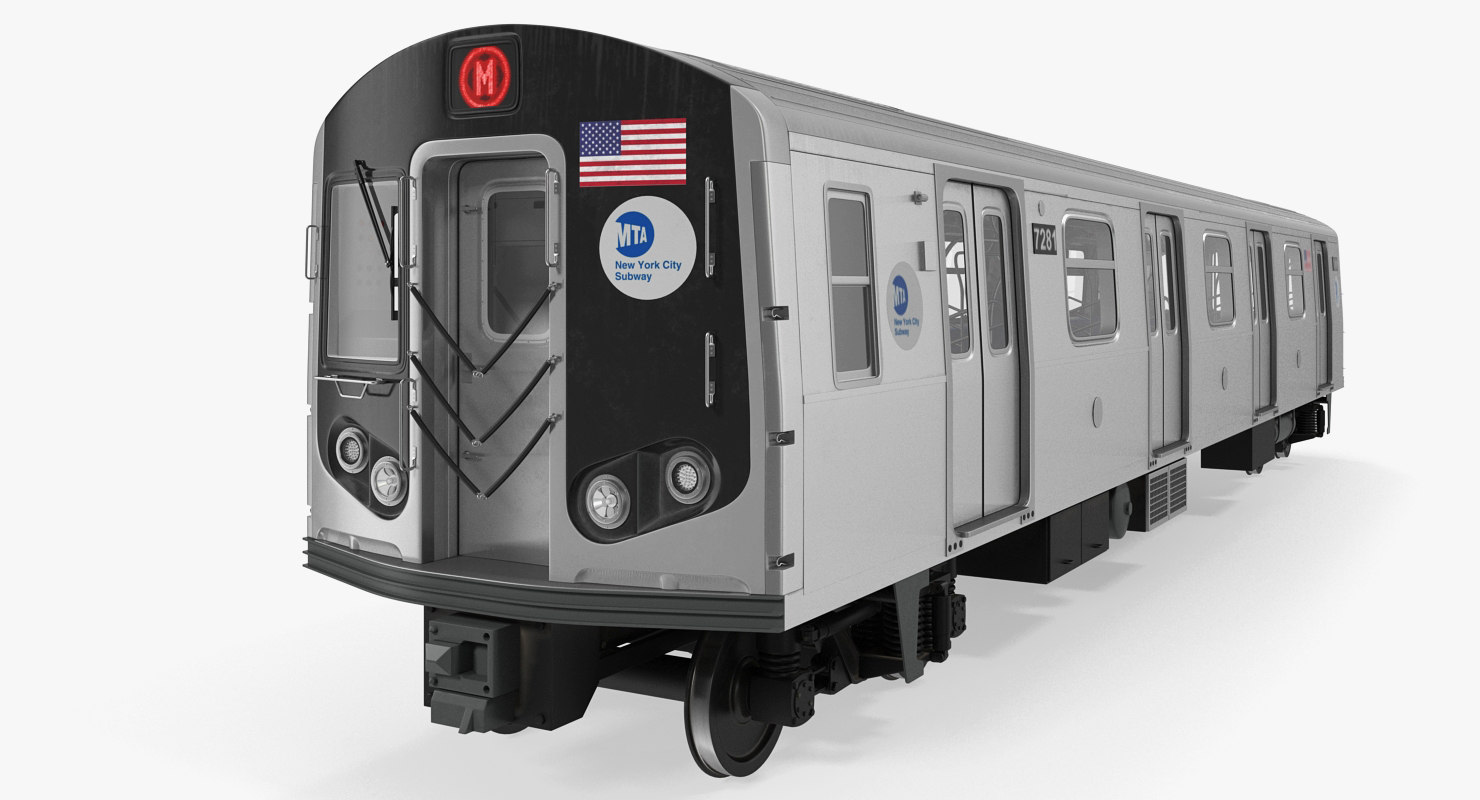 New York City Subway Car R160 Rigged