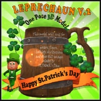 leprechaun st patricks model