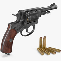 Shortened Model Nagant Revolver