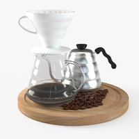 Hario v60 coffee drip