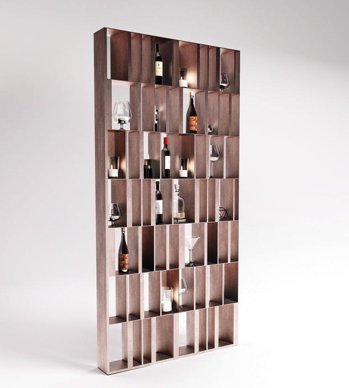 shelf module 3D model