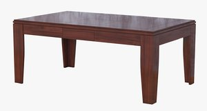 dining table polys 3D