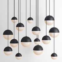 3D pendant lighting