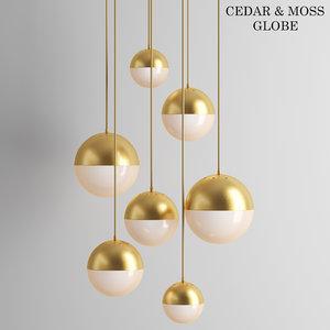 3D pendant lighting model