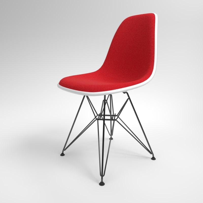interior vitra eames plastic chair model