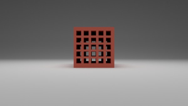 hollow brick model