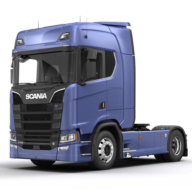 SCANIA S730 Semi Truck