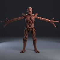 3D monster fantasy model