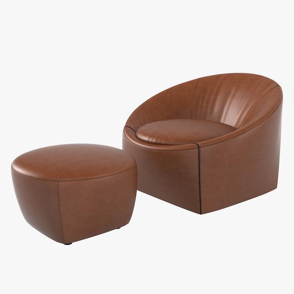 minotti capri leather cahir model