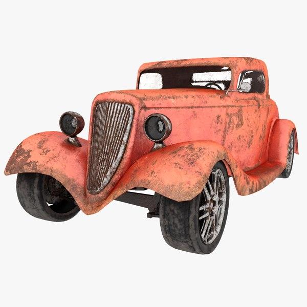 oldtimer 1933 old 3D model