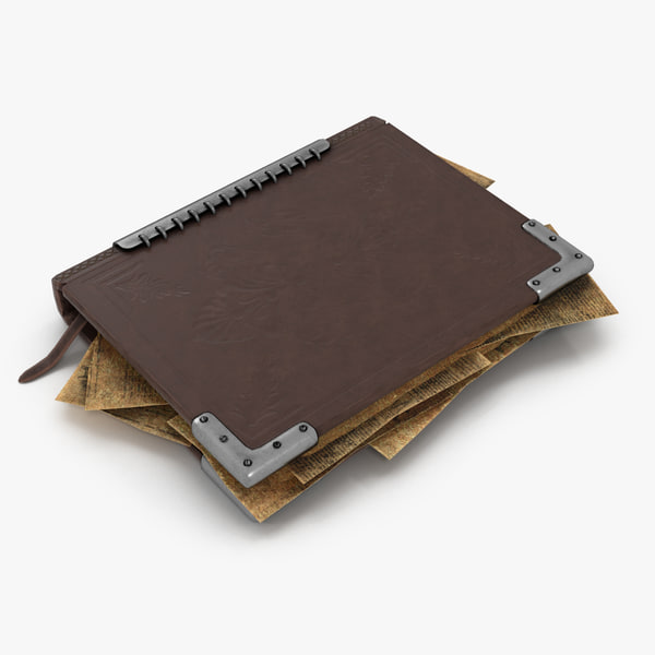 book cloze 3D model