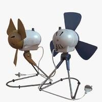 pbr albedo x3 3D model