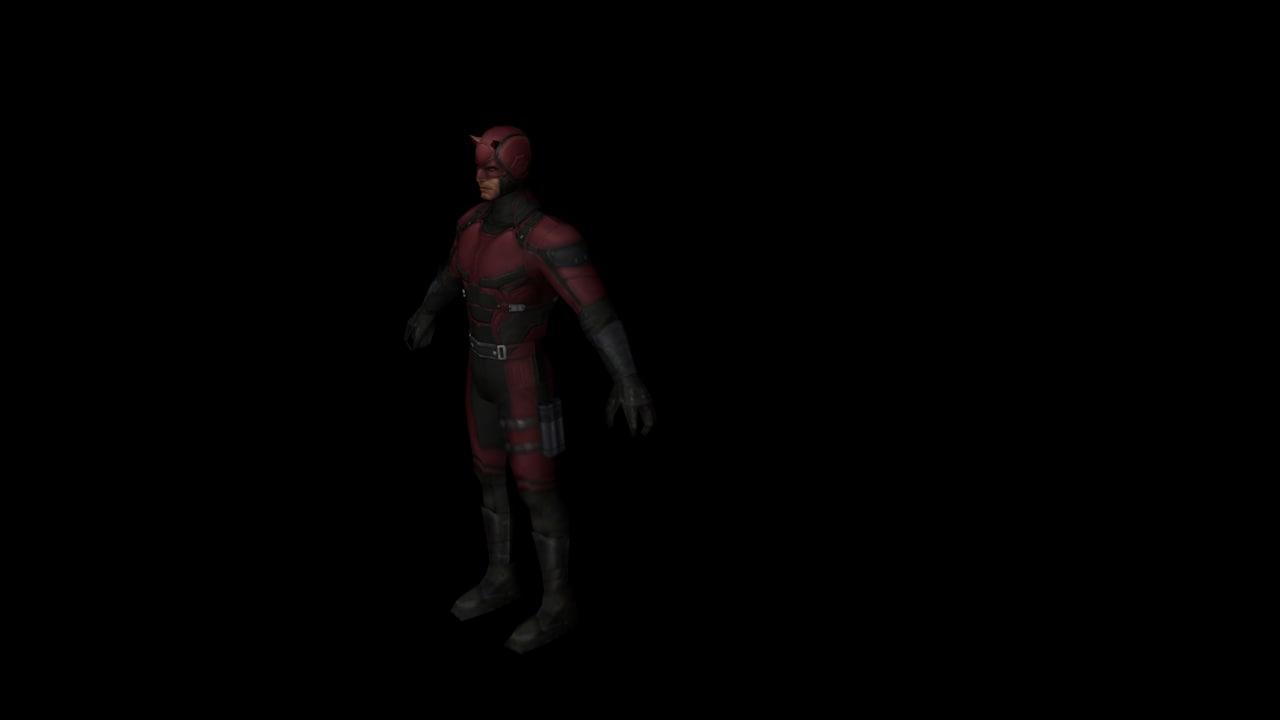 3D model daredevil devil
