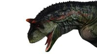 carnotaurus rigged 3D model