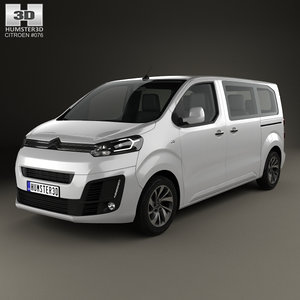 3D model citroen spacetourer 2016