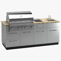 outdoor kitchen grill model