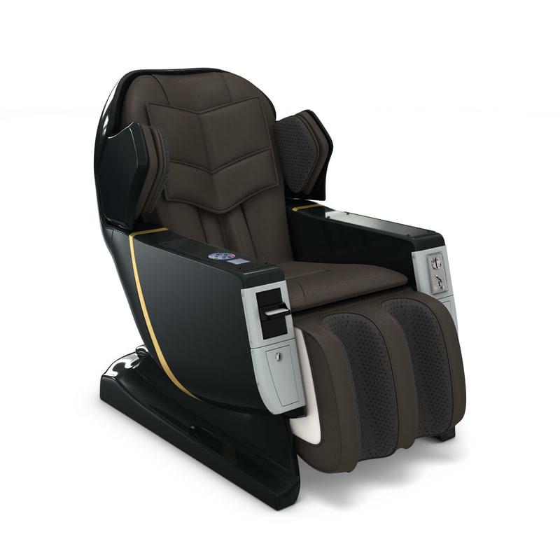 massage chair 3D