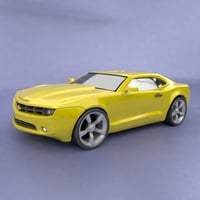 3D chevy camaro redesigned