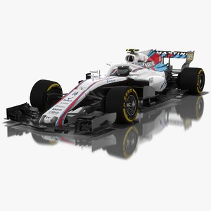 3D williams fw41 formula 1
