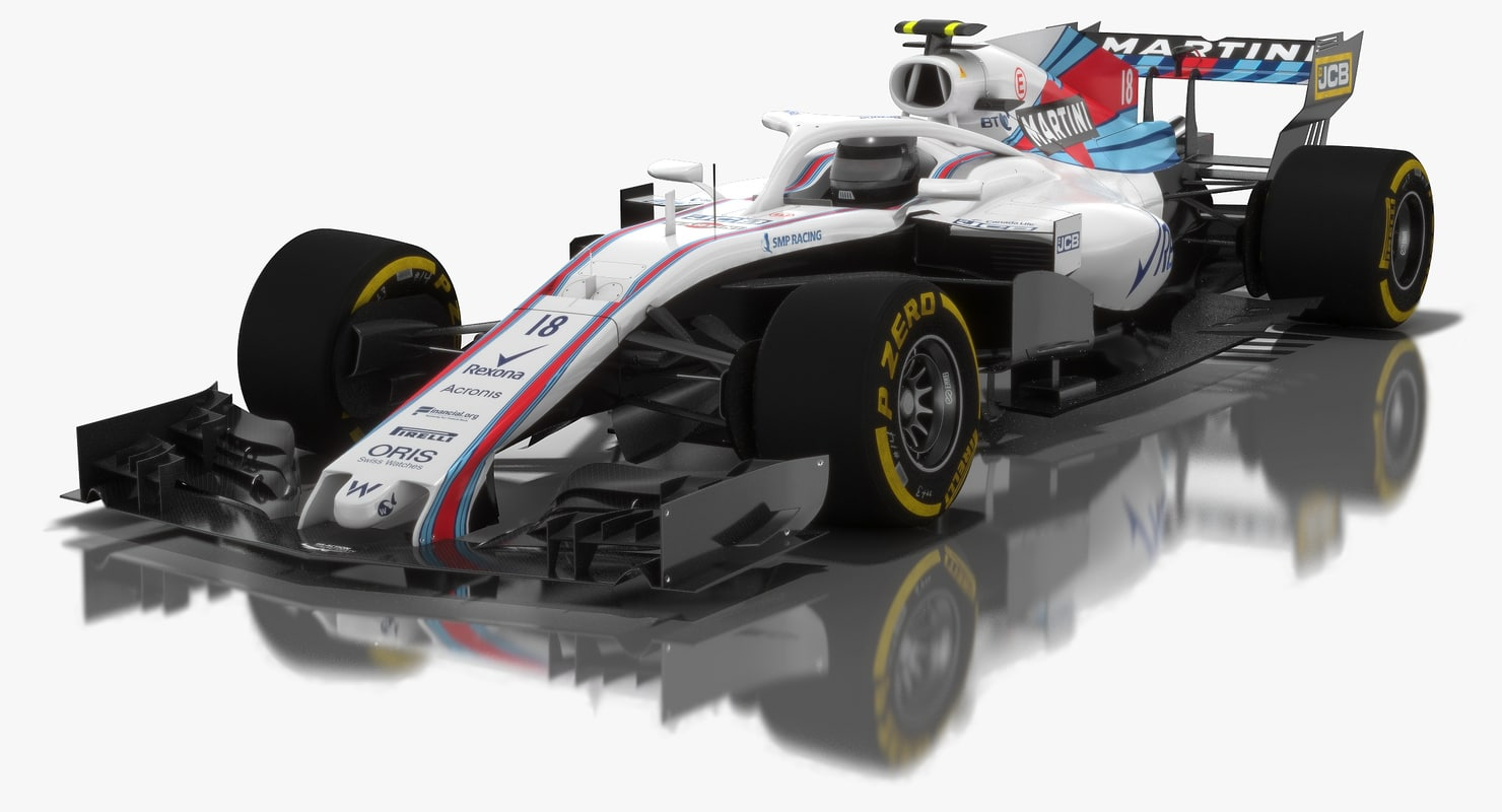 3D williams fw41 formula 1