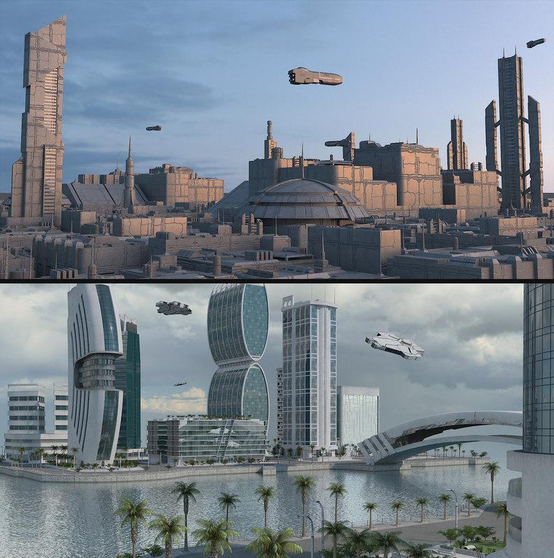 3D cities 2