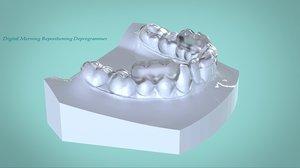 digital morning repositioning deprogrammer 3D model
