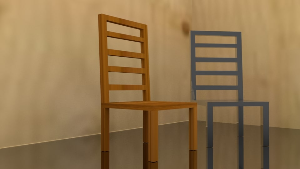 chair interior basic 3D model