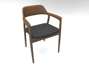 hiroshima chair 3D model