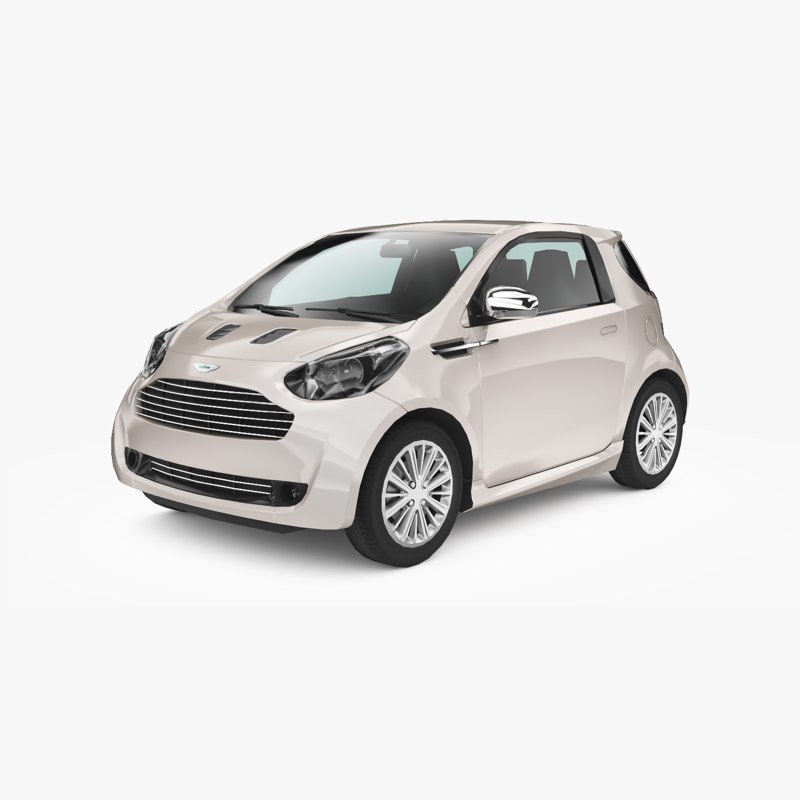 aston martin cygnet 2010 3D model
