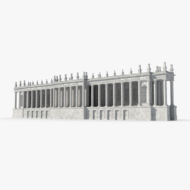 3D temple building