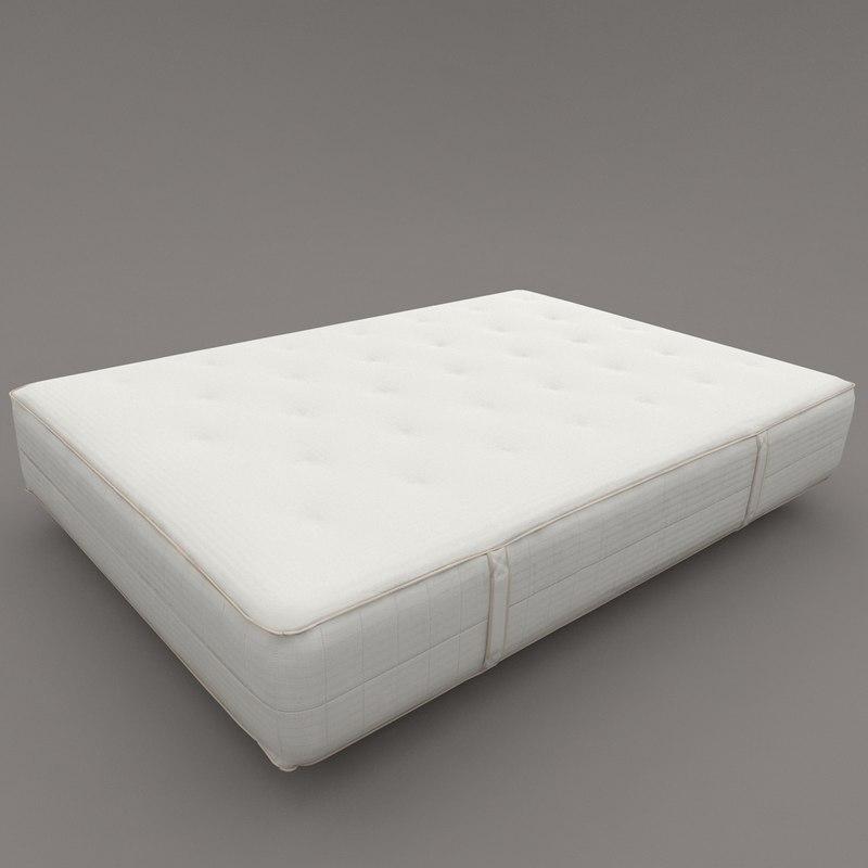 ikea mattress 3D