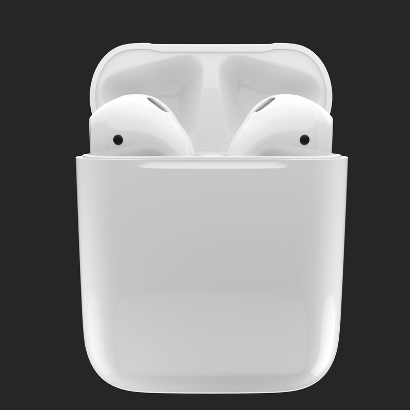 3D apple airpods model